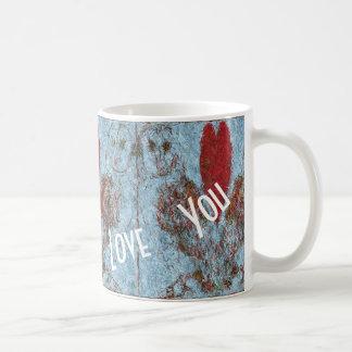 Caneca De Café De celeiro da coruja amor sempre você