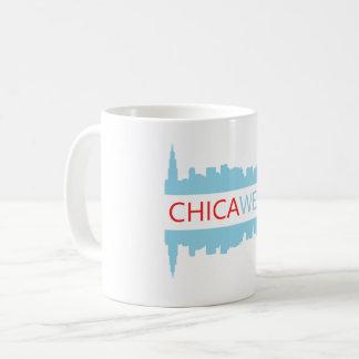 Caneca de café de Chicago - I CHICA-WENT