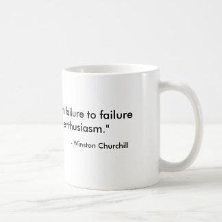 Caneca de café de Churchill das citações do