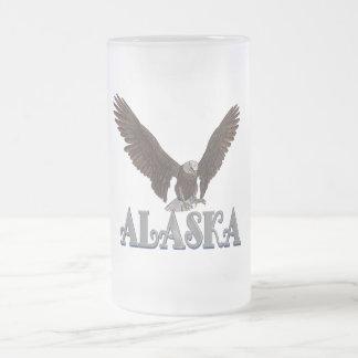 Caneca de café de Eagle da bandeira do estado de