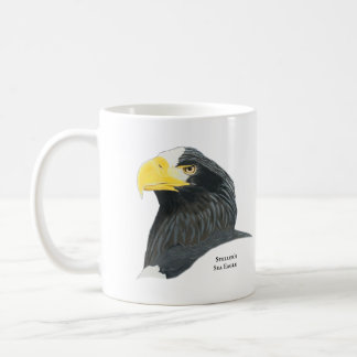Caneca de café de Eagle de mar de Steller