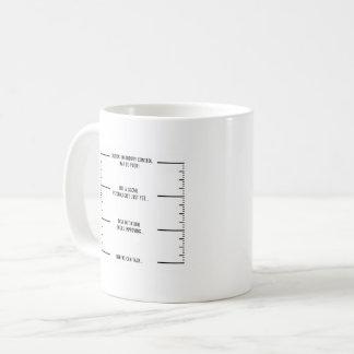 Caneca de café de funcionamento executiva