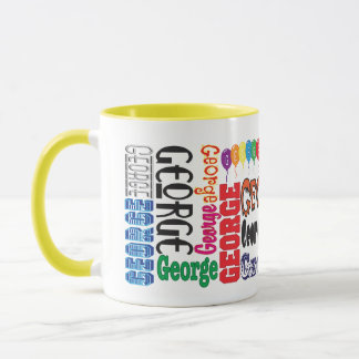 Caneca de café de George