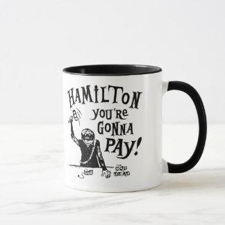 Caneca de café de HAMILTON