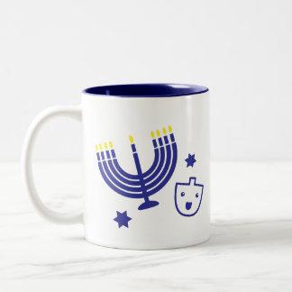 Caneca de café de Hanukkah/Chanukah 11 onças