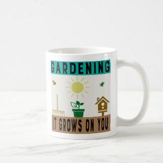 Caneca de café de jardinagem engraçada