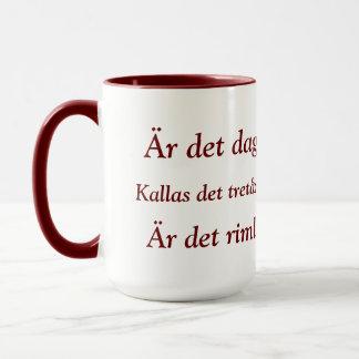Caneca de café de Kaffeprov