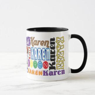Caneca de café de Karen