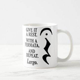 Caneca De Café Dê-lhe um resto