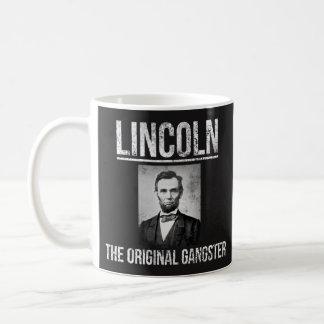 Caneca de café de Lincoln - gângster original