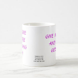 CANECA DE CAFÉ DÊ-ME O CAFÉ E NINGUÉM OBTEM DANO, POR FAVOR GIV…