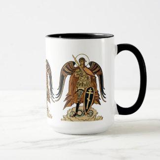 Caneca de café de Michael CC0607 do arcanjo de