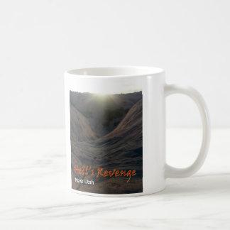 Caneca de café de Moab Utá da vingança do inferno