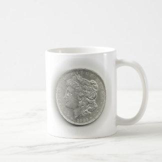 Caneca De Café De Morgan do dólar de prata copo 1921 de café