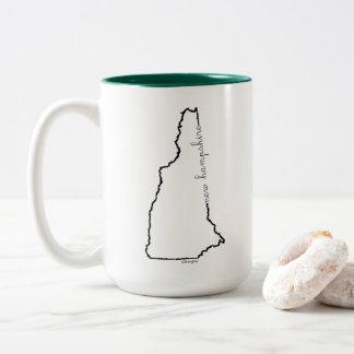 Caneca de café de New Hampshire