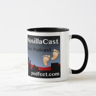Caneca de café de NosillaCast