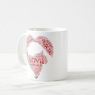 Caneca De Café Dê… o amor… adotam