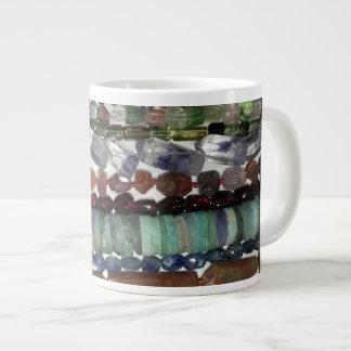 Caneca de café de pedra preciosa