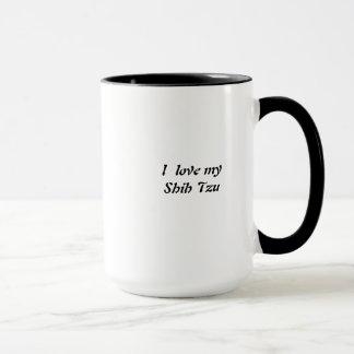 Caneca de café de Shih Tzu