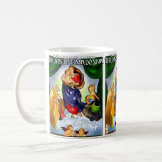 Caneca de café de Sistine Madonna