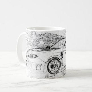 Caneca de café de Subaru