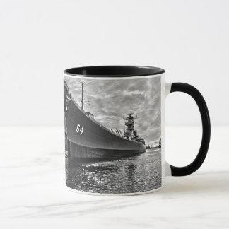 Caneca de café de USS Wisconsin