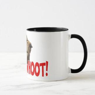 Caneca de café de Whoot Whoot do camelo do dia de