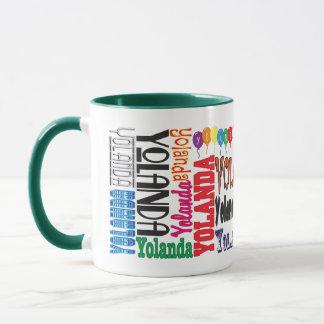 Caneca de café de Yolanda