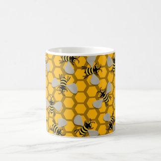 Caneca De Café decoração das abelhas