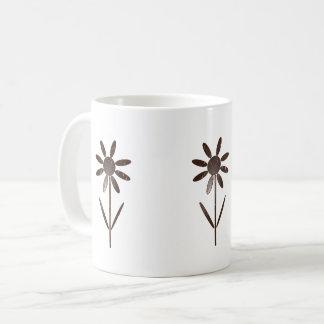 Caneca De Café Decoração de flor