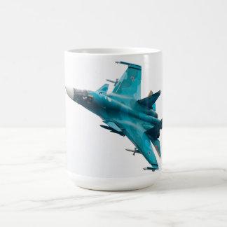 Caneca De Café Defesa Su-34