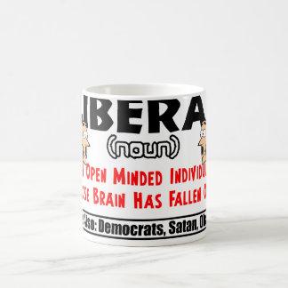 Caneca De Café Definição de um liberal