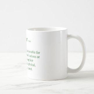 Caneca De Café Definição do professor