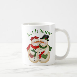 Caneca De Café Deixais lhe para nevar