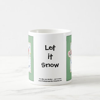Caneca De Café Deixais lhe para nevar copo