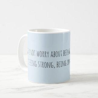 Caneca De Café Deixe-nos não se preocupar…