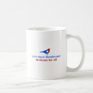 Caneca De Café Deixe-nos ter Berniecare - Medicare para tudo