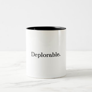 Caneca de café deplorável