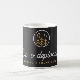 Caneca de café deplorável do do copo '
