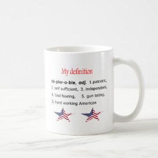 Caneca De Café Deplorável, minha definição