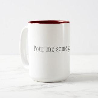 Caneca de café - derrame-me algum bom lovin