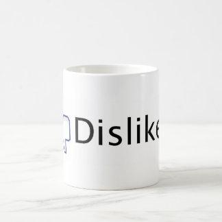 Caneca De Café Desagrado de Facebook