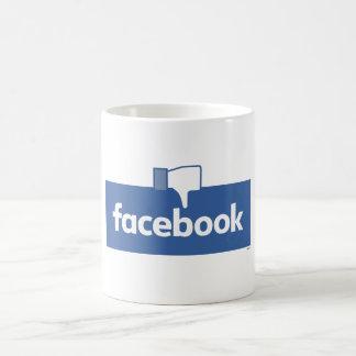 Caneca De Café Desagrado Facebook