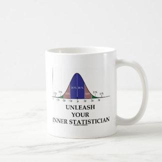 Caneca De Café Desencadeie seu estatístico interno (o humor da