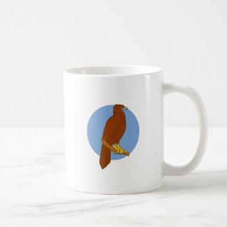 Caneca De Café Desenho Cunha-atado australiano da vara de Eagle