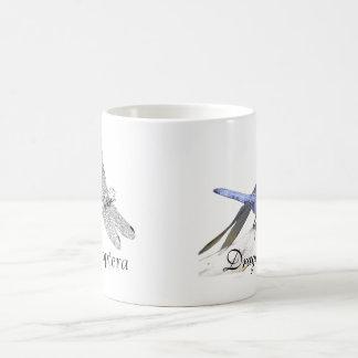 Caneca De Café Desenho da libélula de Anisoptera