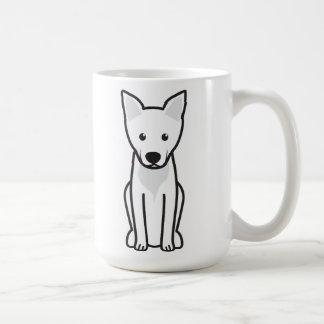 Caneca De Café Desenhos animados do cão de Carolina