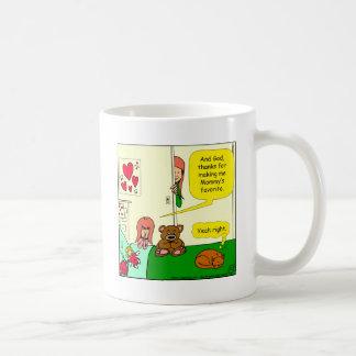 Caneca De Café Desenhos animados favoritos da criança da mãe 874