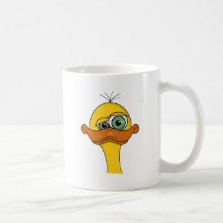 Caneca De Café Desenhos animados impares engraçados do pato