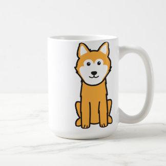 Caneca De Café Desenhos animados islandêses do cão do Sheepdog